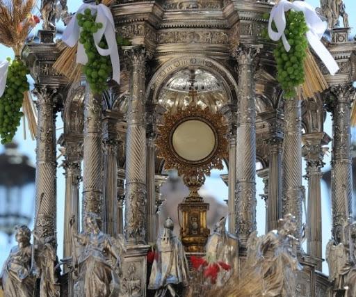 Resultado de imagen de procesión del corpus