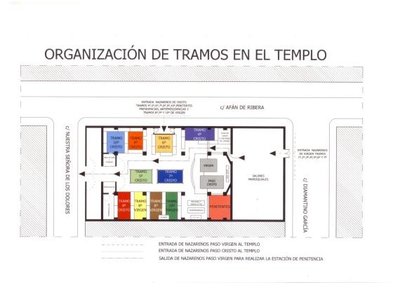 Tramos templo 2015