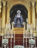 Galería fotográfica del altar de los cultos a Nuestra Señora de los Dolores