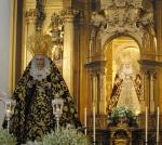 La Hermandad de San Bernardo cederá el manto de salida para Nuestra Señora de los Dolores