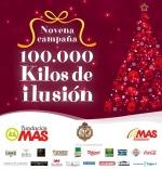 Reparto de alimentos de la campaña 100.000 kilos de ilusión