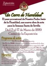 El próximo miércoles se inaugura la exposición Un Cerro de Humildad