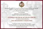 S.E.R. Fray Carlos Amigo preside la Función de Acción de Gracias en el LXXV Aniversario fundacional