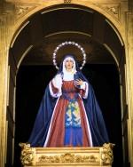 Visitas al camarín de Nuestra Señora de los Dolores